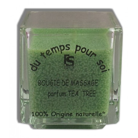 Bougie de massage Tea tree - 60 g