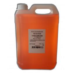 huile de massage Cannelle Orange, Chaude, 5 litres