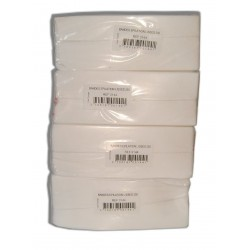 LOT de 4 paquets de 250 bandes lisses non-tissées - Cire à épiler