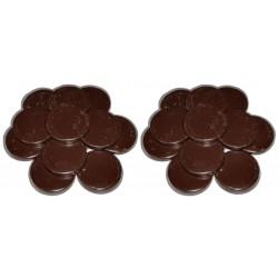 Chocolat - 2 kg Galets cire à épiler traditionnelle